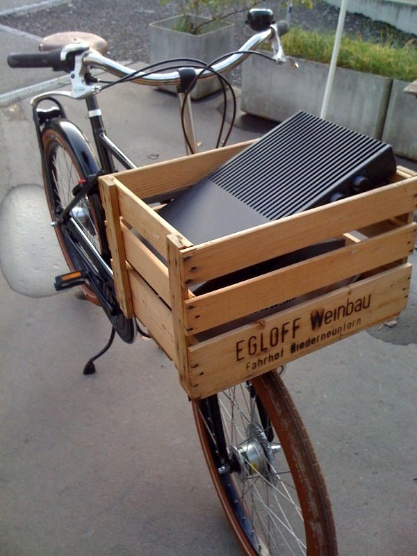 Crate Bike Basket
