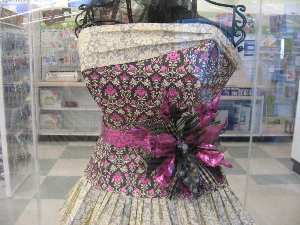 Paper Dress Top View
