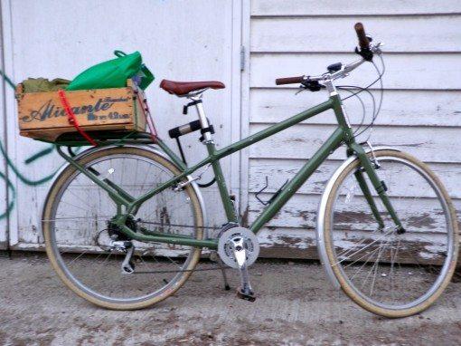 Shipping Crate Bike Basket