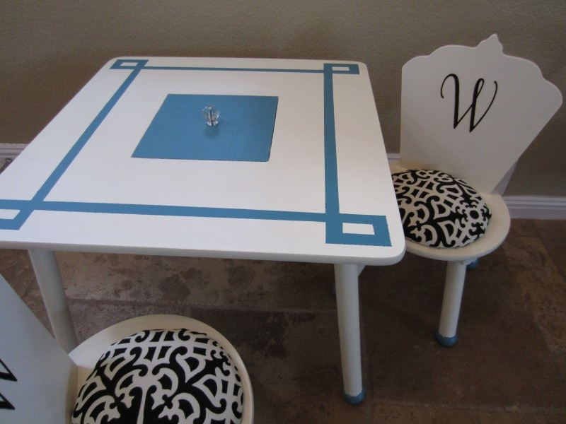 Upcycled Childrenu0027s Play Table