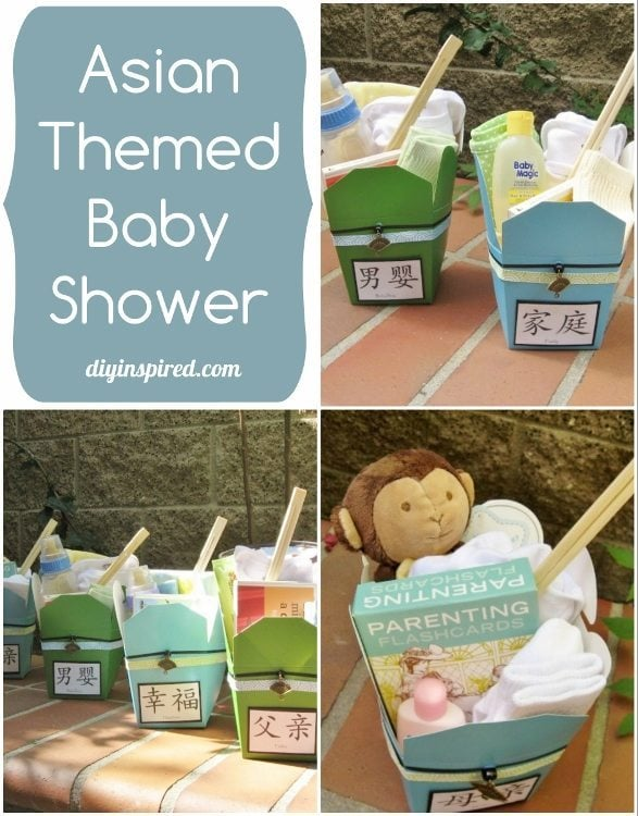 Baby Gifts For Japanese : Asian themed baby shower diy inspired