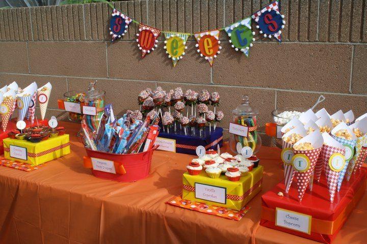 First Birthday Party DIY Decoration Ideas - DIY Inspired