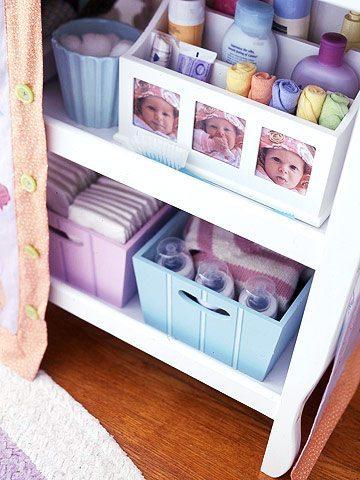 Repurposed Kid's Storage Solutions DIY Inspired