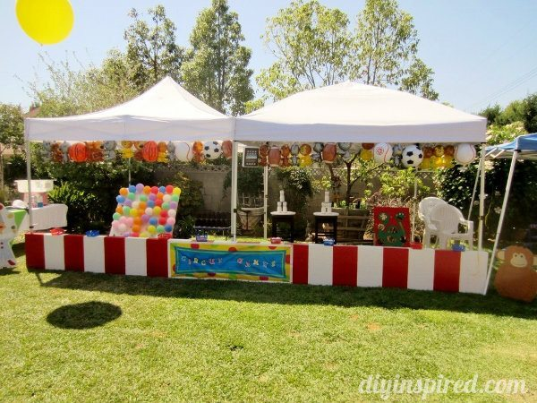 Carnival Theme or Circus Theme Party & Carnival Theme or Circus Theme Party - DIY Inspired