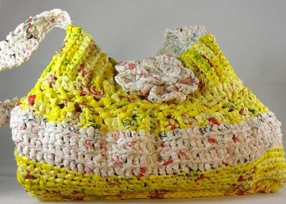 Recycled Plastic Grocery Bags