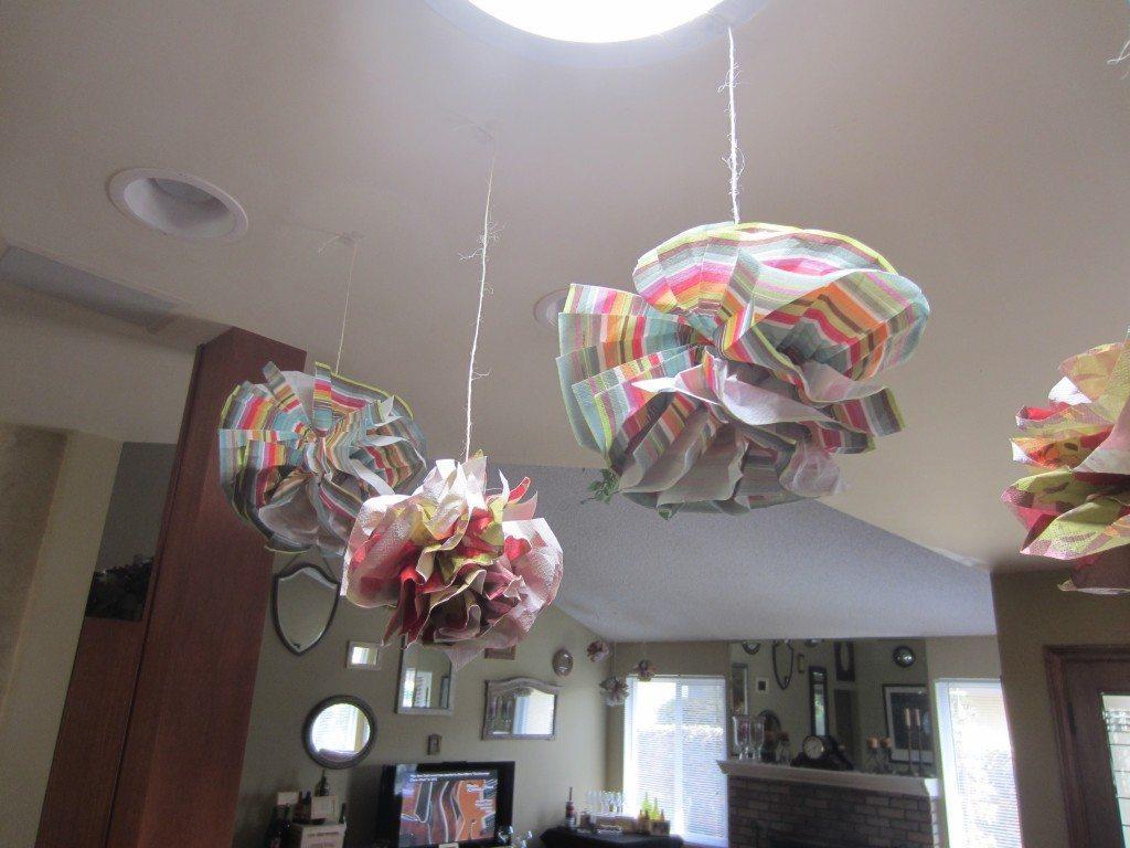 Tissue Paper Flowers Napkins