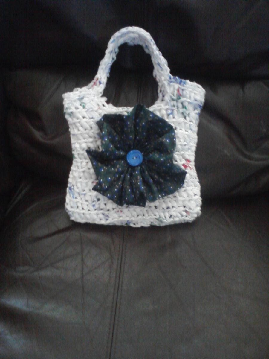 Crochet recycled plastic bags -  Etsy Com Was The First Place I Decided To Look I Always Admire The Inspiring Talent I Find On There I Searched For Recycled Plastic Bags And