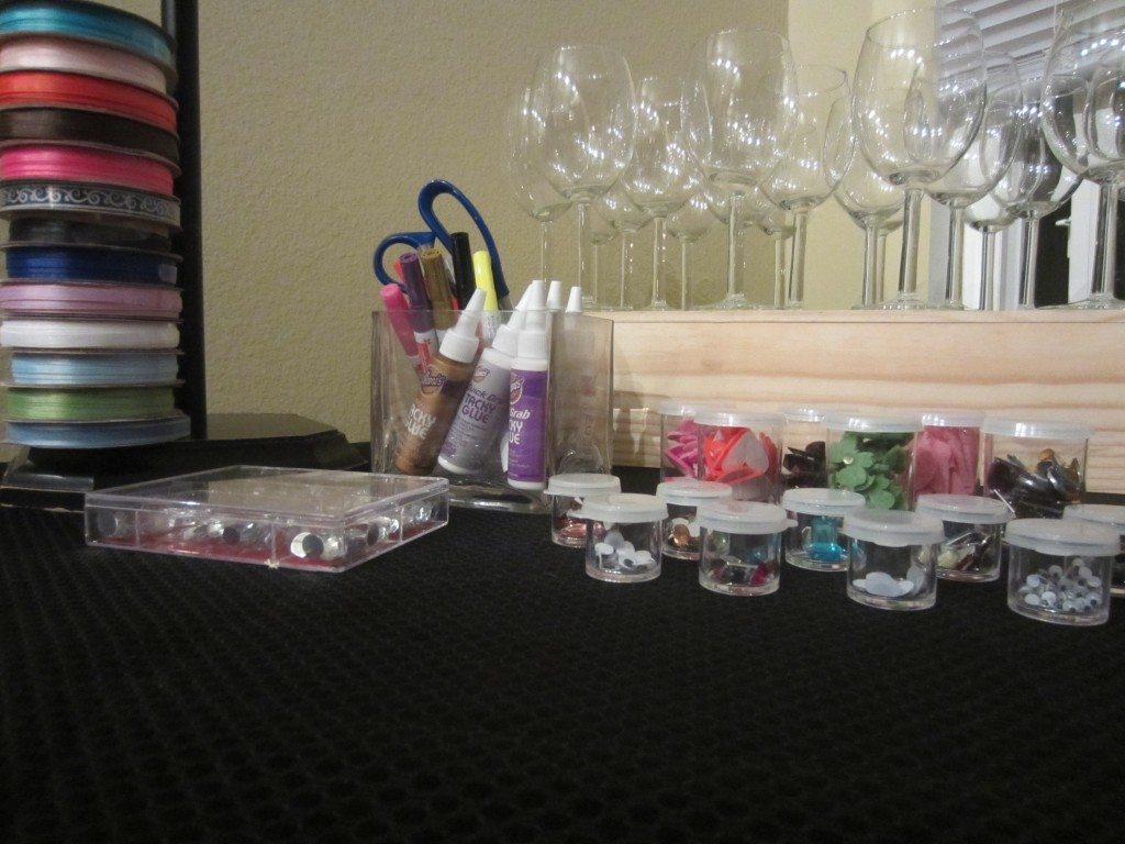 Decorate Wine Glasses