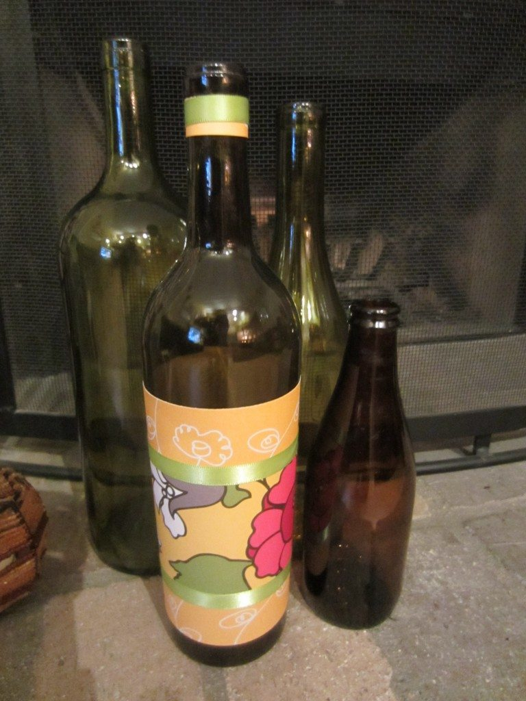 Embellished Wine bottles 1