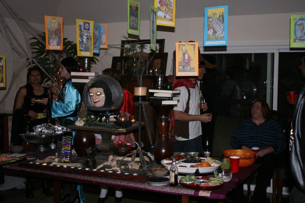 DIY Halloween Decorations: DIY Tombstones, Floating Tarot Cards, Haunted Pictures, and Insane Asylum Photos