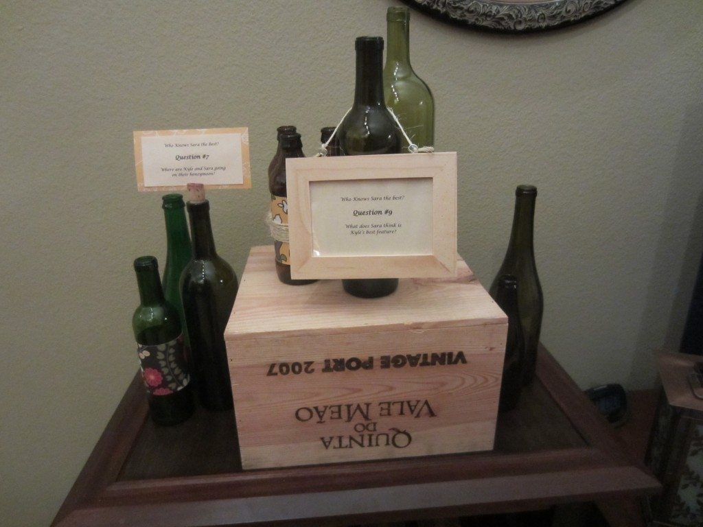 Trivia Wine Bottle
