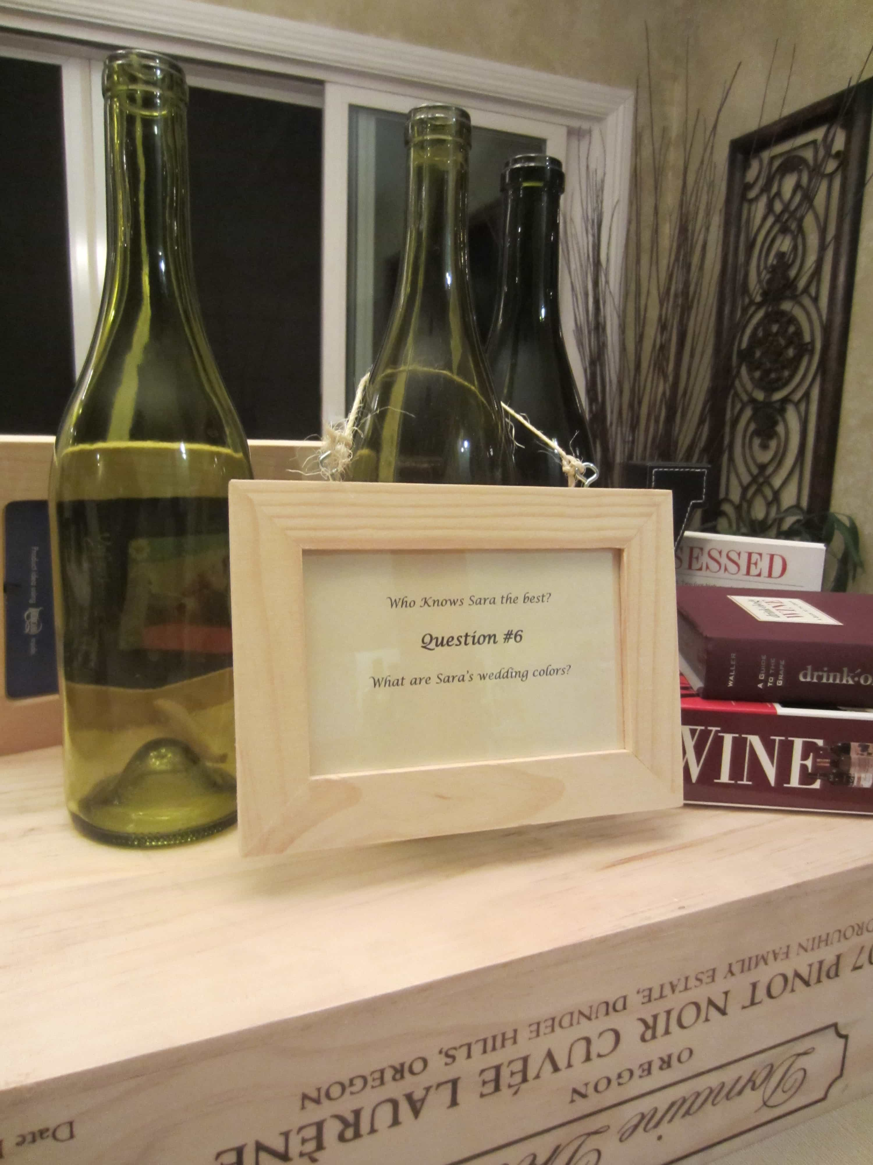I Asked My Friends To Save Their Wine Bottles And Collected Them To Use As Party Decorations Click Here To Find Out More On How To Make Wine Bottle Frames