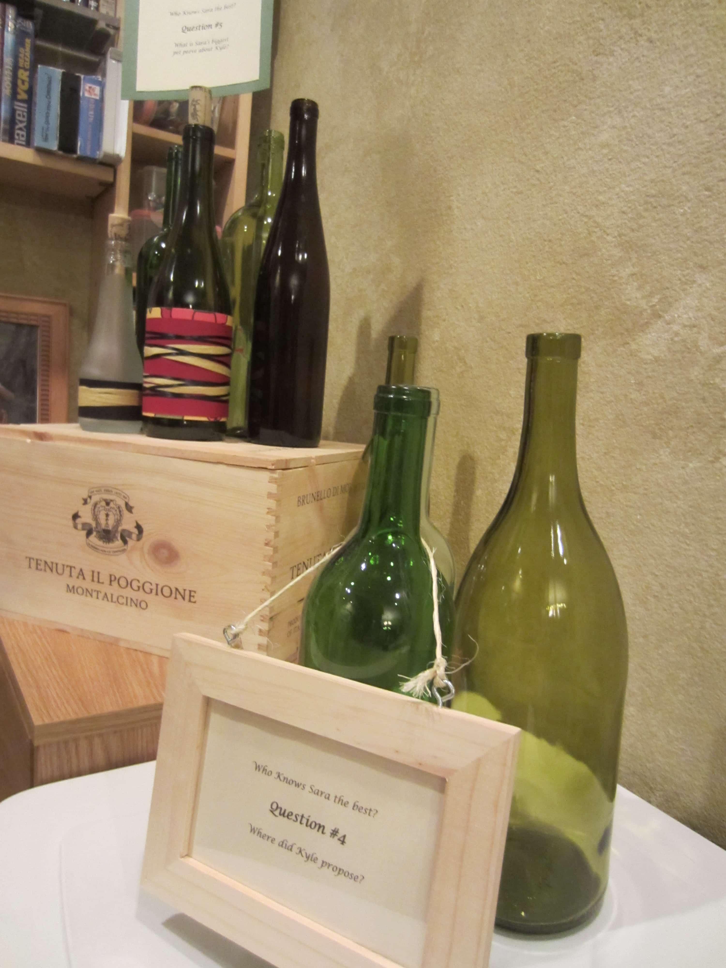 wine bottle frames - Wine Picture Frames
