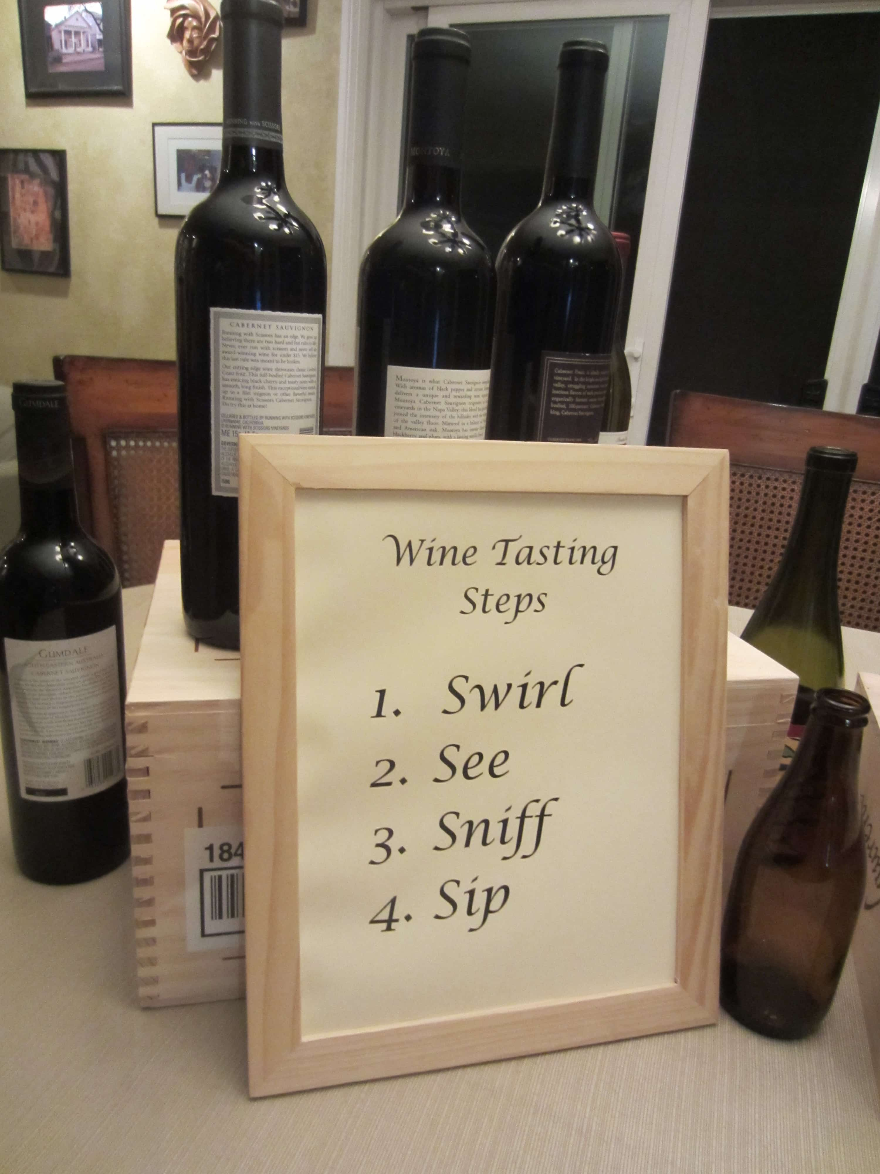 They Were Able To Assist Me And Curtailed It To My Budget I Displayed The Featured Wines As Part Of A Centerpiece As Well As The Wine Tasting Steps