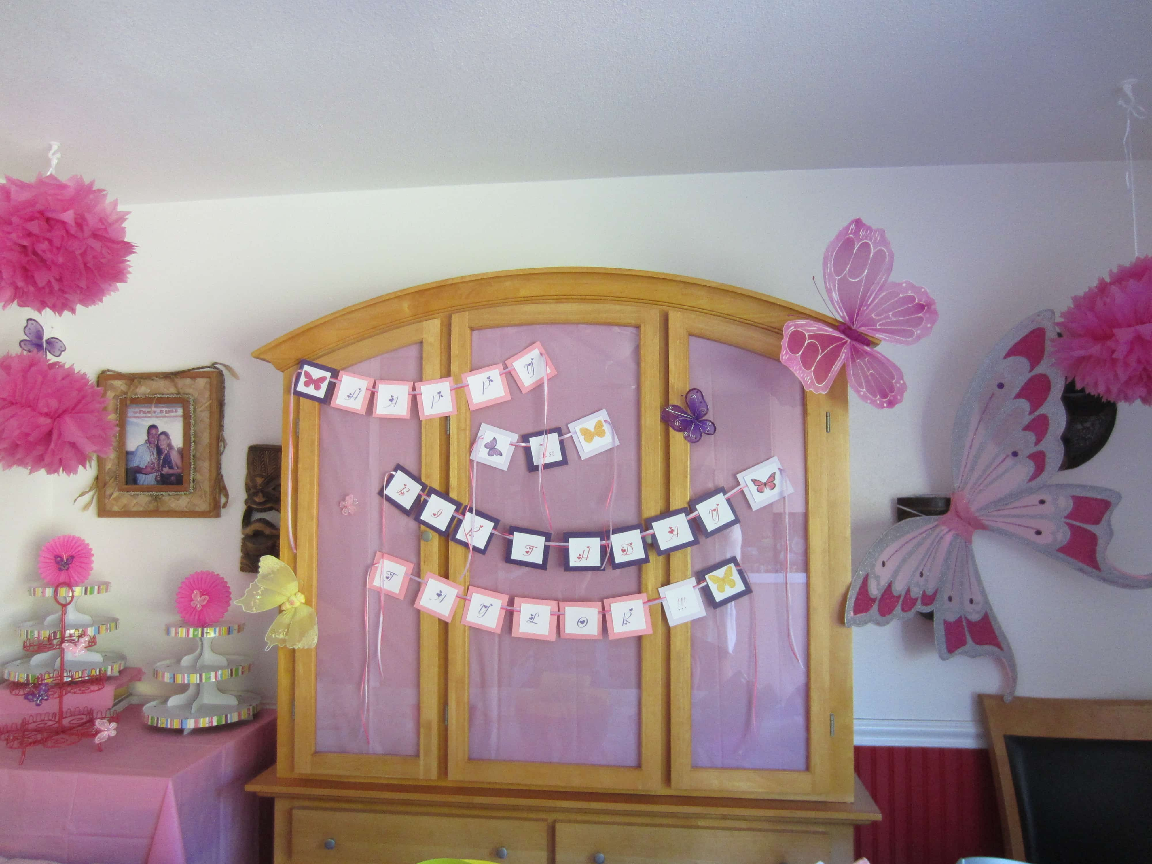Cheap Birthday Decorations