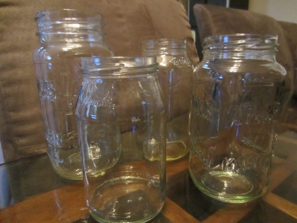 DIY Frosted Mason Jars (4)