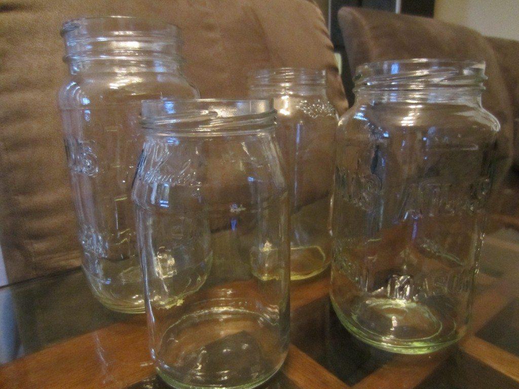 DIY Frosted Mason Jars (4)
