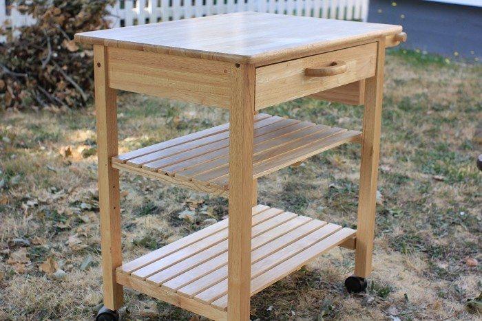 Amazing DIY Kitchen Cart Makeover 700 x 467 · 105 kB · jpeg