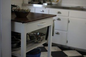 Kitchen cart makeover_cart8