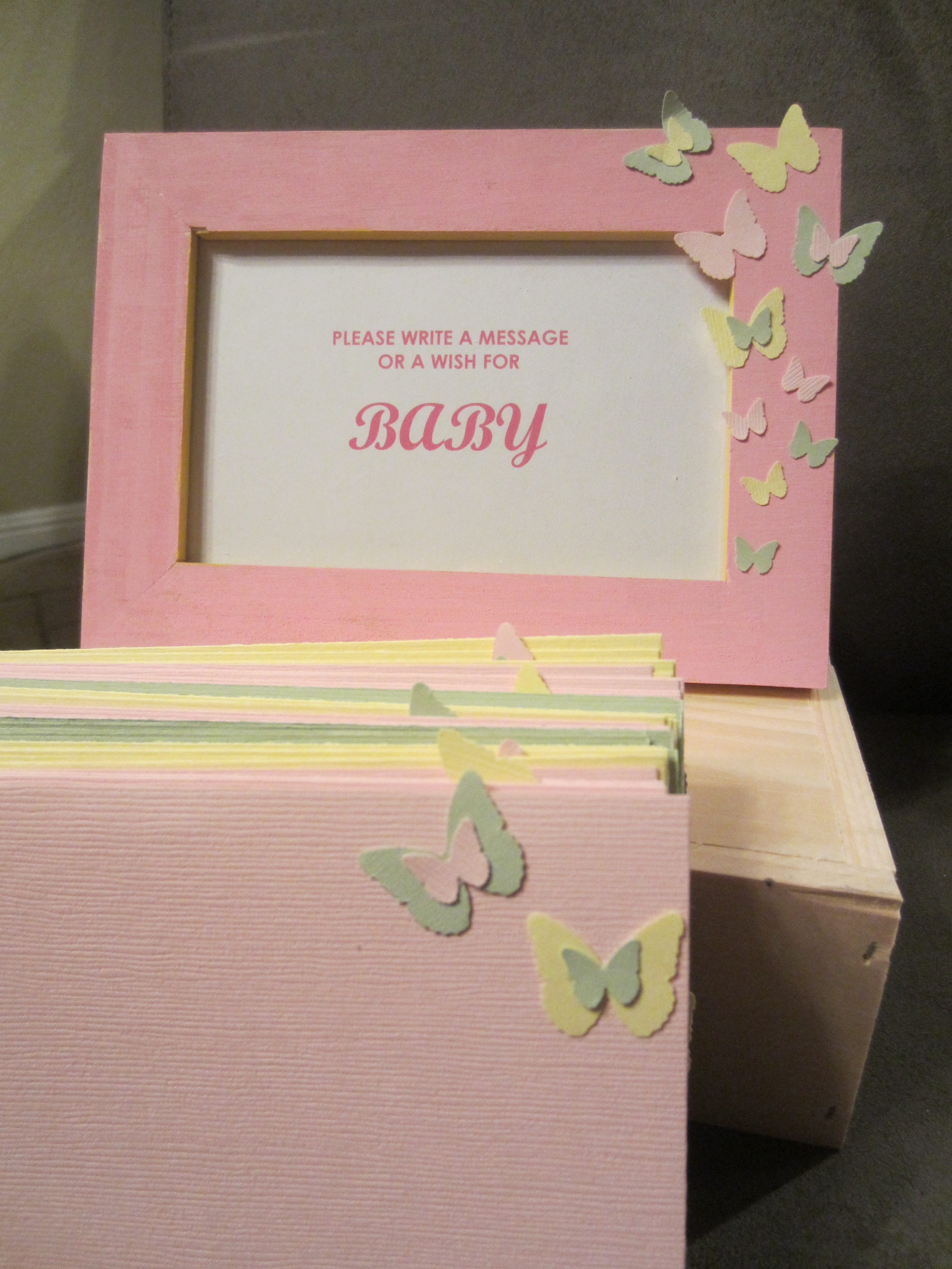 Baby Shower Message Cards DIY Inspired – Baby Shower Message