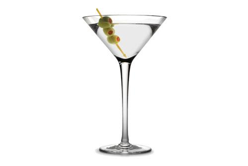 perfect dirty gin martini