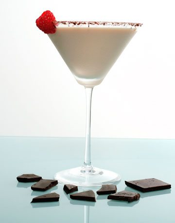 White Chocolate Raspberry Martini Raspberry cheesecake martini