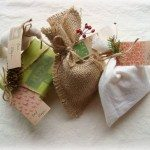 Burlap Party Favors