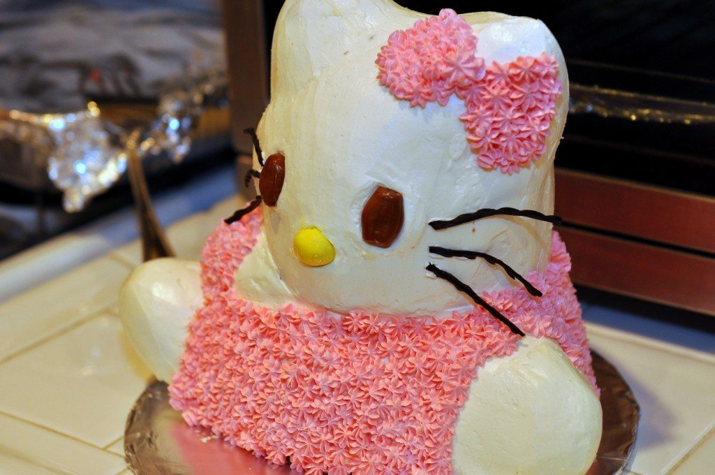 Hello Kitty Party DIY Inspired Cake