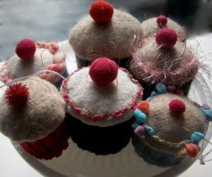 Recycled Sweater Pin Cushion