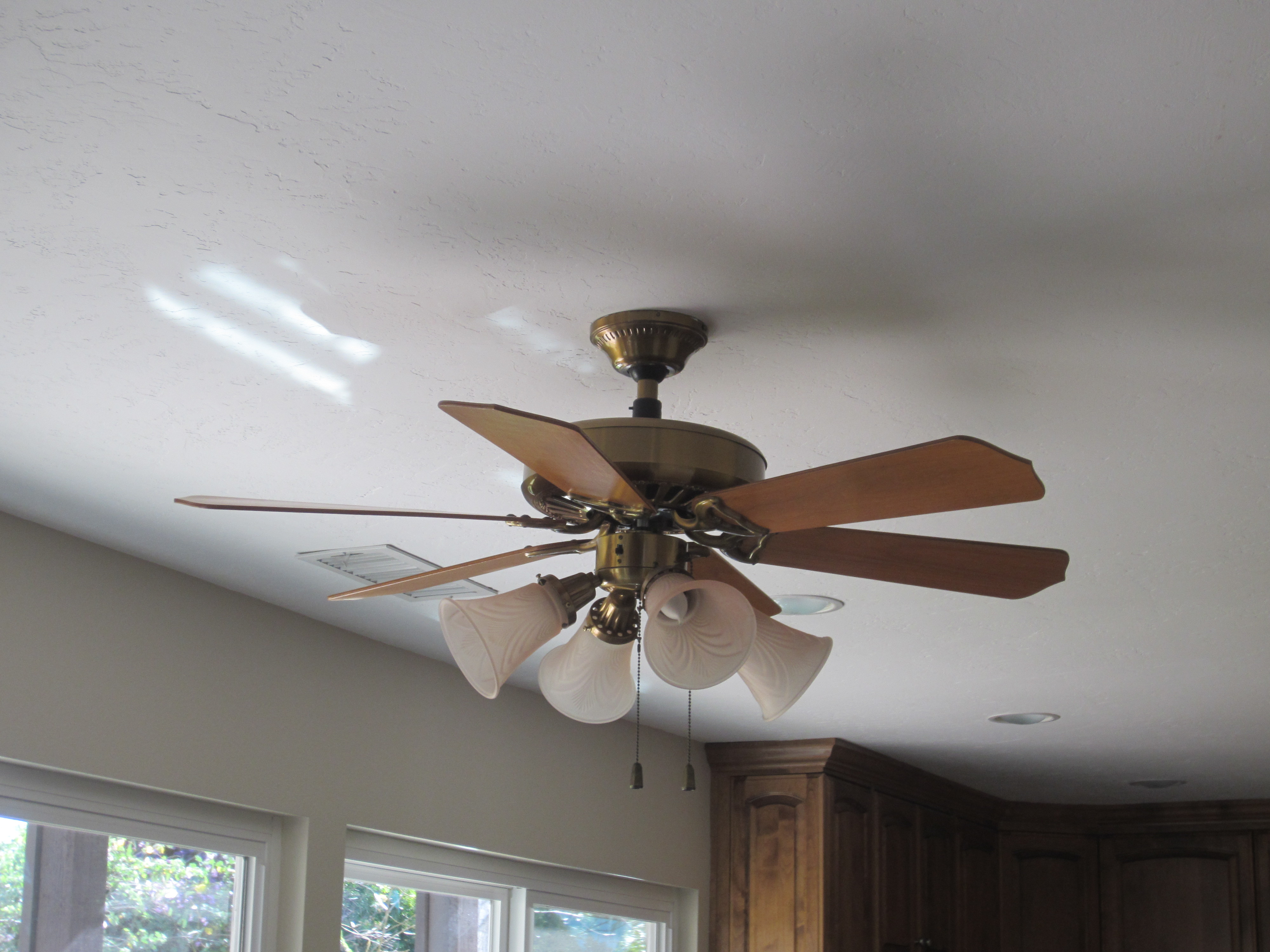 Ceiling Fan Light Fixtures Replacement Best Home Design Living Installing Wiring Replacing A Fixture Diy Inspired