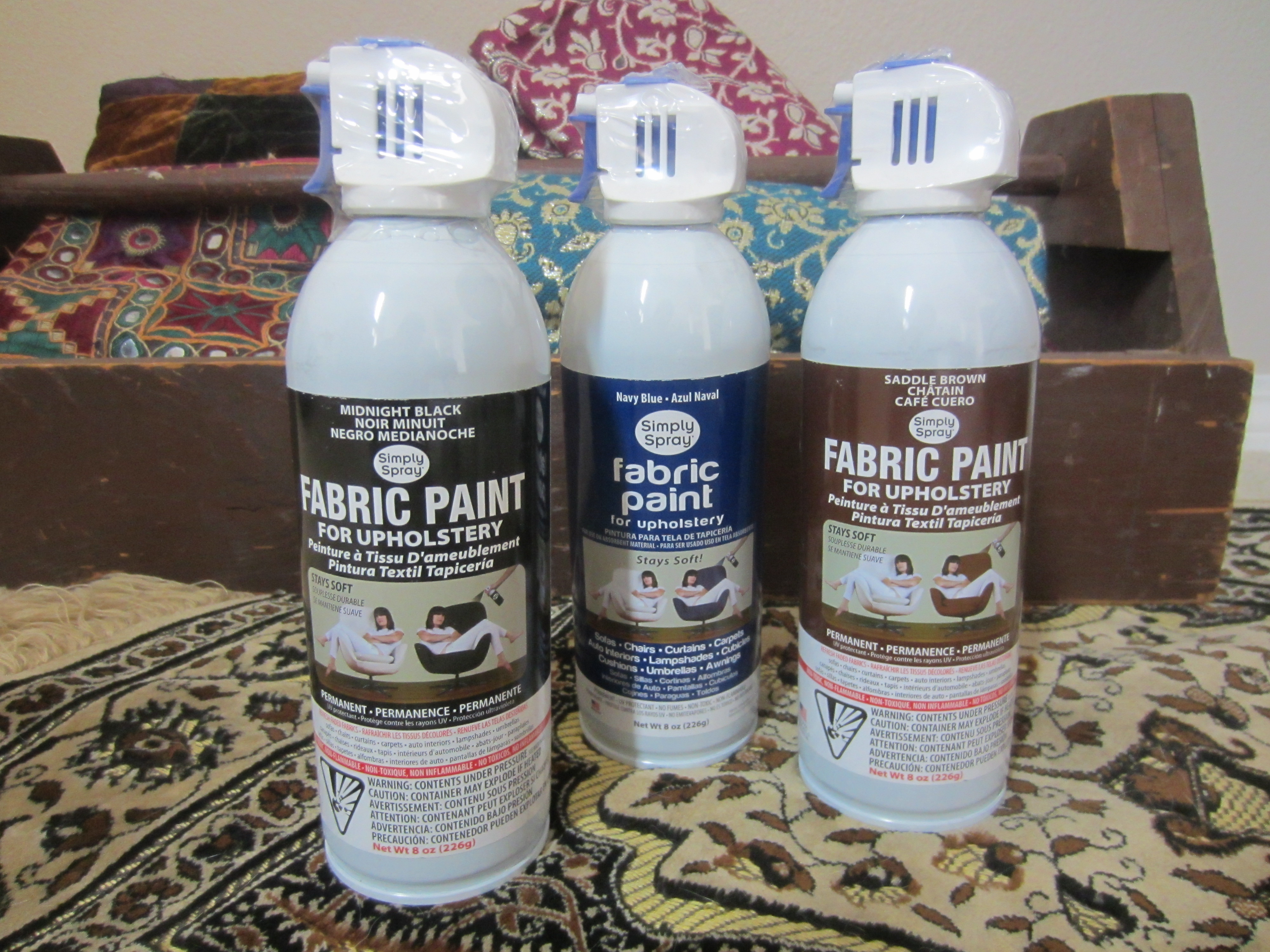 Fabric Spray Paint Ideas Part - 17: Simply Spray Fabric Paint
