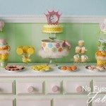 Tea Cup Dessert Display