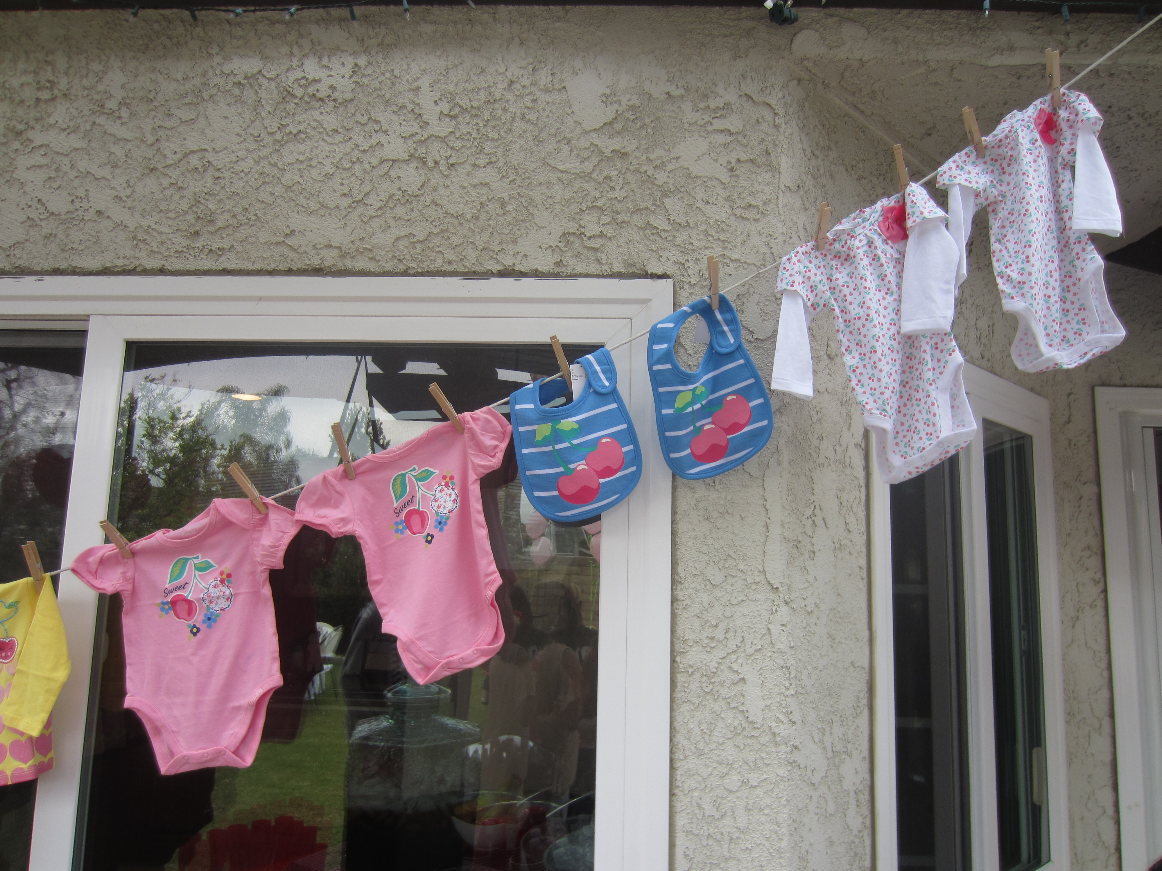 Cherry Themed Twin Baby Shower - DIY Inspired