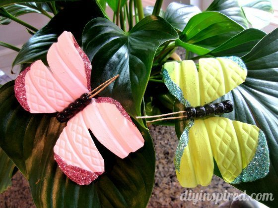 Recycled Water Bottle Butterflies (23) (560x420)