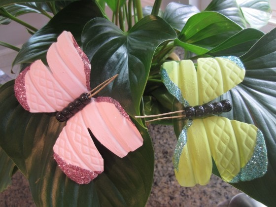 Recycled Water Bottle Butterfly