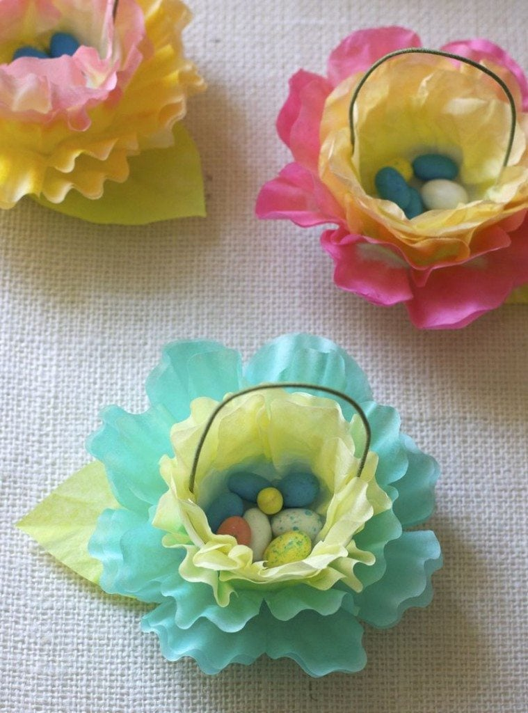 Recycled Coffee Filter Inspiration DIY Inspired