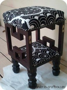 shadow box foot stool