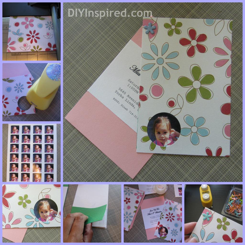 DIY Birthday Invitations - DIY Inspired