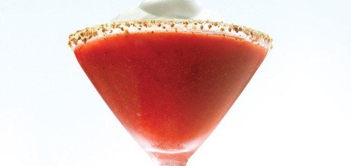 Strawberry Shortcake Shake and Almond Joy Martini - DIY Inspired