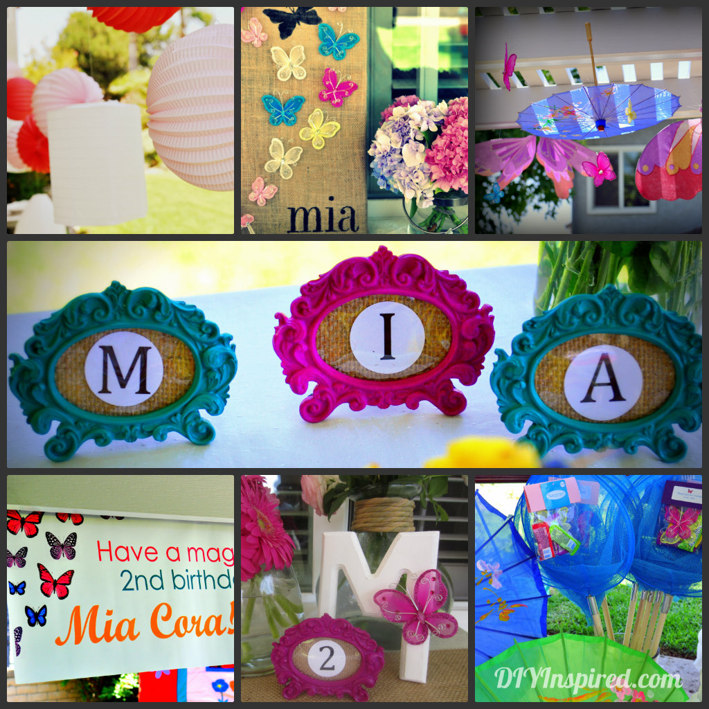 Summer Birthday Party Decorations - DIY Inspired