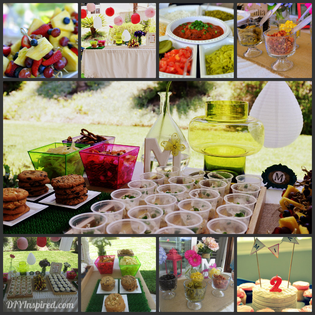 food collage ForParty Food And Drink Ideas