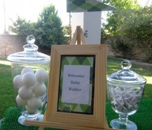 Golf Themed Baby Shower (1)