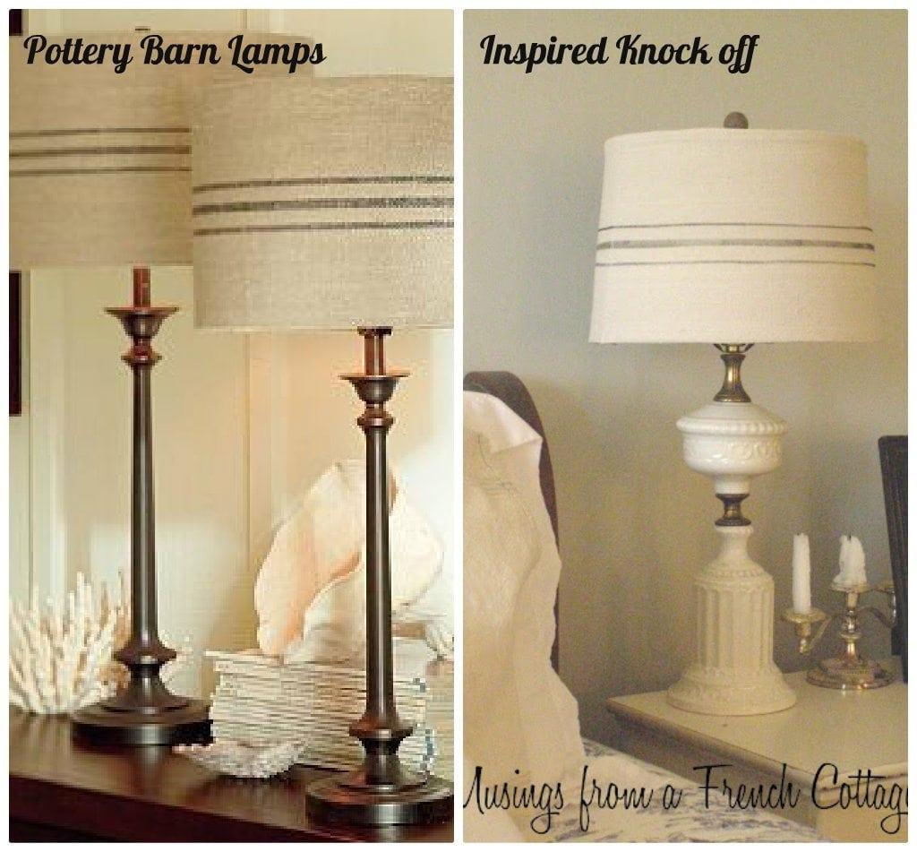Pottery Barn Lamp Knock Off: DIY Lighting Knock Offs