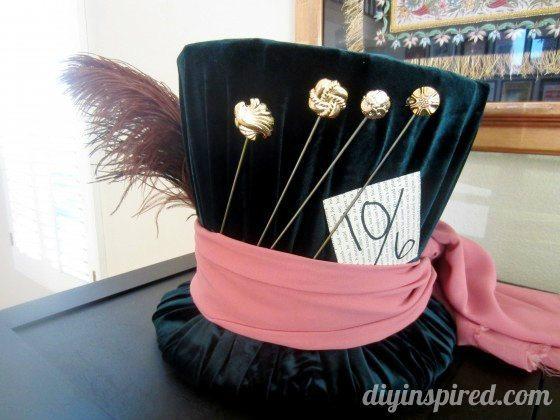 DIY Mad Hatter Hat