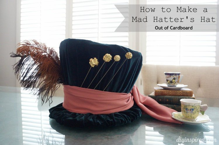 DIY Mad Hatter Hat
