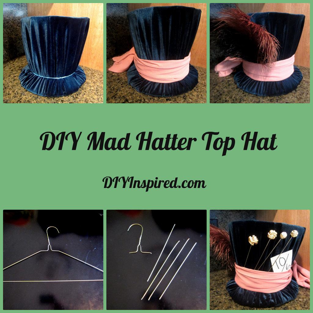 DIY Mad Hatter Top Hat Inspired