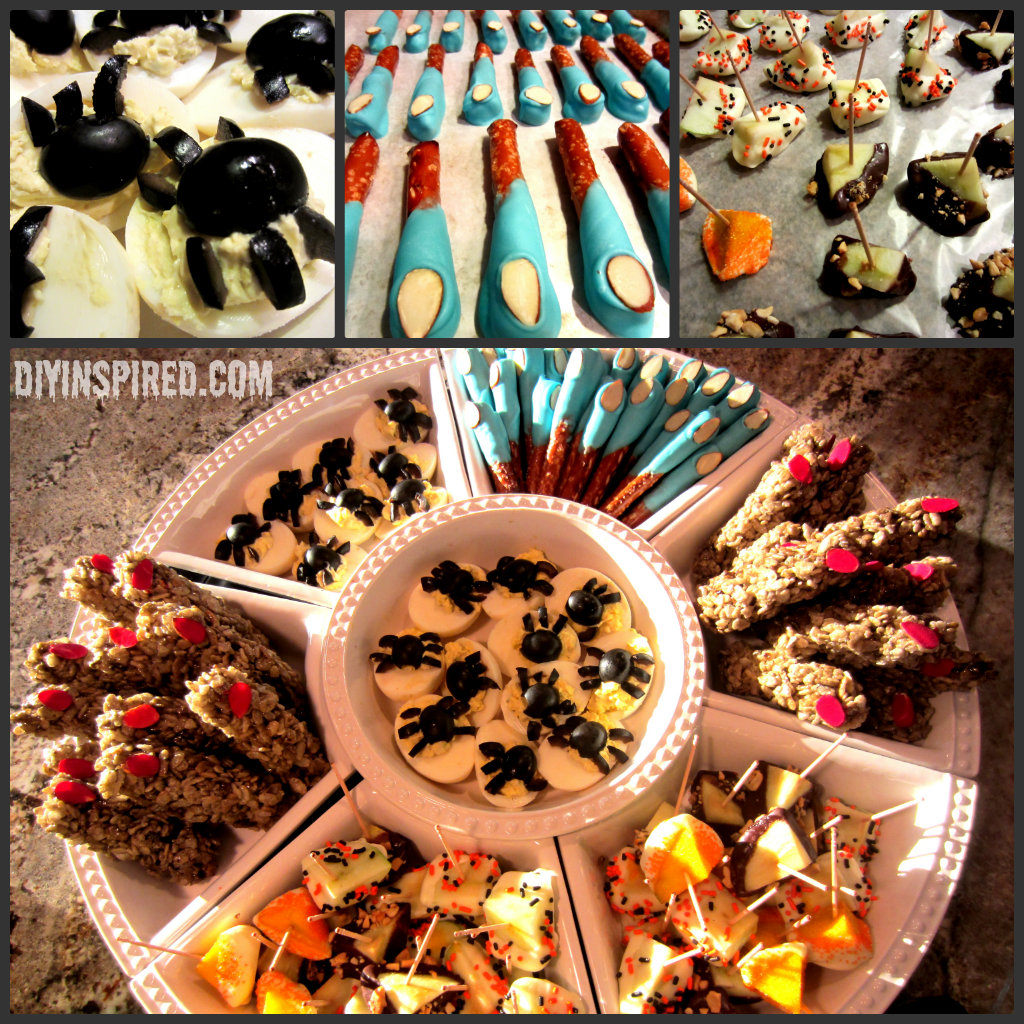 Four Easy Halloween Party Treats