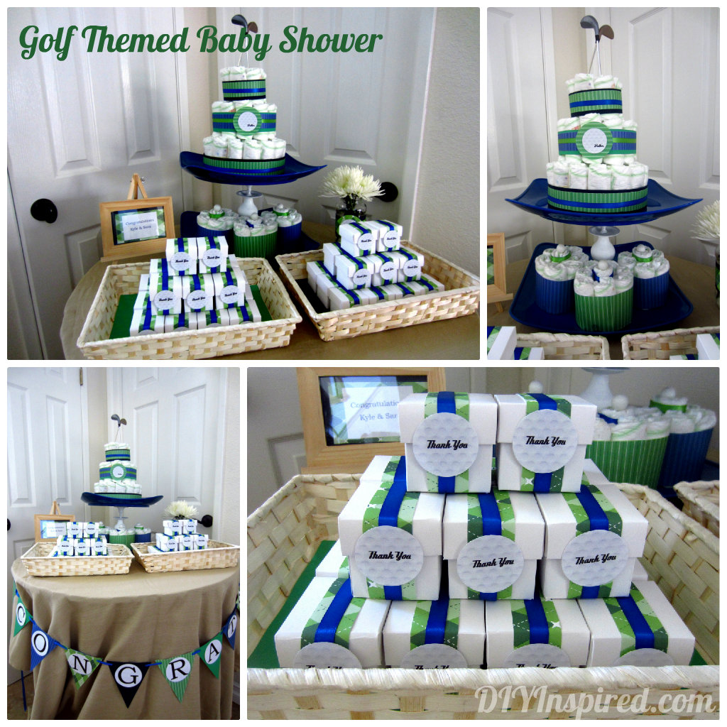 golf themed baby shower diy inspired golf themed baby shower