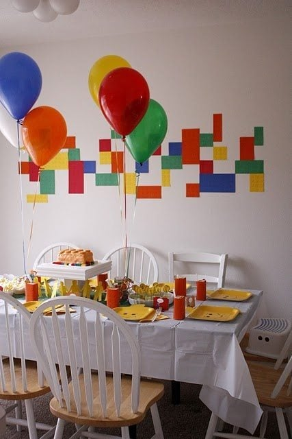 Lego Theme Party Ideas Diy Inspired