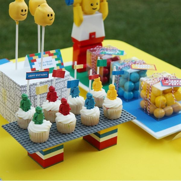 Lego Theme Party Ideas - DIY Inspired